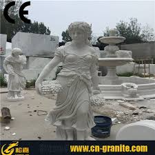 white marble woman sculpture modern