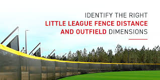 Little League Field Dimensions Guide Grand Slam Safety