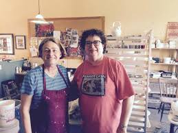Wendy (left) and Cindy (right)...a pleasure to have met...you'll be hearing  from me again! - Picture of Wendy Johnston Pottery and Art Effects Fine  Craft Gallery, Hopewell Cape - Tripadvisor