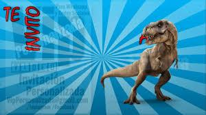 Vip Video Invitacion Personalizada Cumpleanos Eventos Dinosaurio