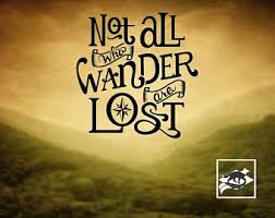 Not All Who Wander Are Lost Decal Etsy