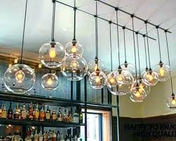 multi bulb pendant light mayga