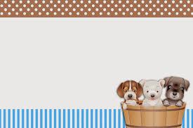Perritos Imprimibles E Invitaciones Para Imprimir Gratis Fiestas Para Perros Invitaciones Para Imprimir Invitaciones Para Imprimir Gratis