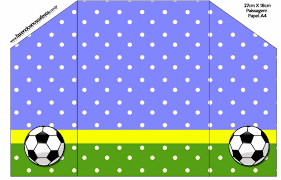 Invitaciones De Cumpleanos Para Imprimir De Futbol Wallpaper En
