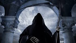grim reaper scythe hood 4k ultra hd