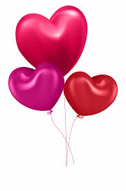 clipart hearts balloon heart balloons