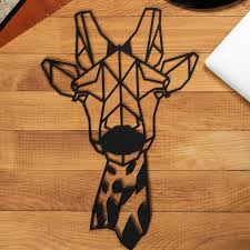 giraffe wall decor with images