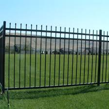 China 5 Ft And 6 Ft High Commercial Grade Security Wrought Iron Fence Designs China Wrought Iron Fence Designs Security Wrought Iron Fence