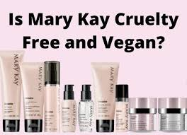 is mary kay free and vegan