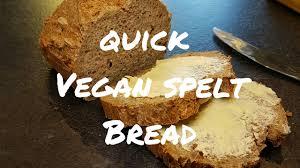 vegan quick easy spelt bread no oil