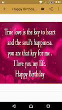 happy birthday my love quotes apps on google play