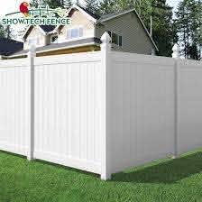 China Eco Friendly White 6 H 8 W Pvc Vinyl Privacy Fence Panels China Pvc Privacy Fence Pvc Fence Factory