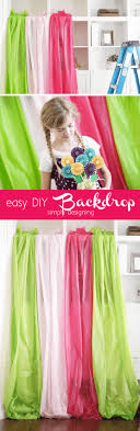 diy photo backdrop simply designing