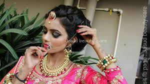 indian bridal makeup and hairstyle you