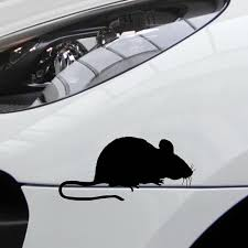Buy 2 Pieces Car Sticker Little Mouse Pattern Waterproof Removable Decal Car Sticks Decals At Jolly Chic