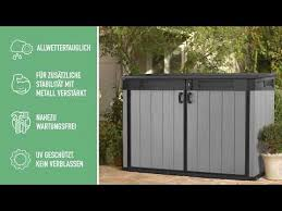 grande horizontal storage shed
