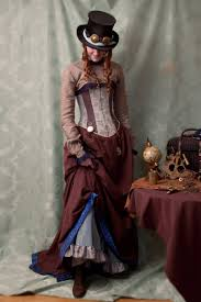 victorian steunk makeup and fashion