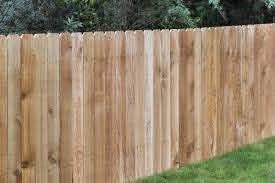 4 X 8 Cedar Dog Ear Wood Fence Panel At Menards
