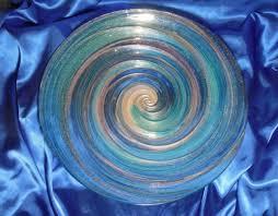 deco mosaic art glass bird bath