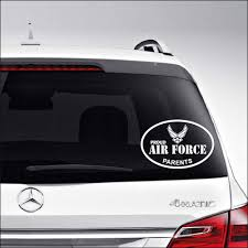 Amazon Com Aampco Decals Proud Air Force Parents Emblem Insignia Military Car Truck Motorcycle Windows Bumper Wall Decor Vinyl Decal Sticker Size 6 Inch 15 Cm Wide Color Matte White
