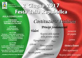 """Le nuove sfide della Repubblica Italiana"""", il 2 giugno il convegno ..."""