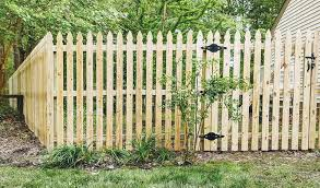 6 Foot High Spaced Picket Fence With A Murphy Fence Company Facebook