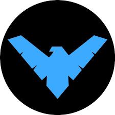 Sticker Emblem Logo Nightwing Stickersmag
