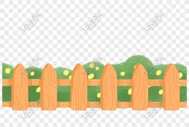 Hand Drawn Cartoon Wooden Fence Dividing Line Decorative Border Png Image Picture Free Download 401336718 Lovepik Com