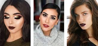 winter themed face makeup looks ideas