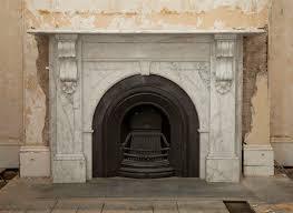 restoration carrara marble fireplace