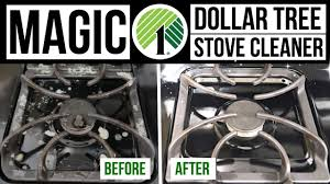 diy magic stove cleaner dollar tree