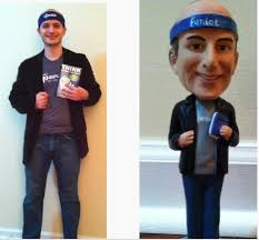 """Adam Blitzer on Twitter: """"Not going to lie -- super cool of my team to get  me a custom bobble head. Wife noted that the real Adam has less hair:  http://t.co/wPy6u3gh"""""""