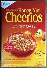 review gluten free honey nut cheerios