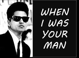 Bruno Mars - When I Was Your Man (BEST LYRICS + PICTURES) | Cool lyrics, My  favorite music, Music book