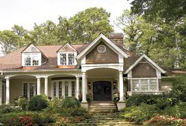 front porches on ranch style homes