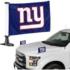 New York Giants Auto Ambassador Flag Set