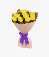 باقة ورد أصفر كلاسيكية ليتل روز Little Rose