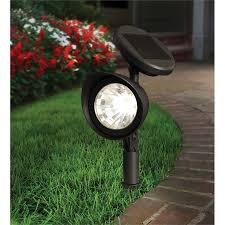 Lytworx 27cm 3 Led Spotlight Solar Light Bunnings Warehouse