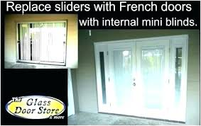 how to install french patio doors