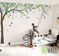 Large Willow Tree Vinyl Decal Nursery Vinyl Wall Decor Etsy Wall Vinyl Decor Baby Wall Stickers Nursery Vinyl
