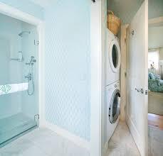 bathroom washer and dryer