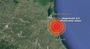 TERREMOTO nel Nord Italia   Forte scossa di magnitudo 4.6 in ...