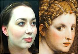the renaissance makeover making up