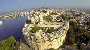 Airiel View, The City Palace, Udaipur - Picture of Shiv Niwas ...