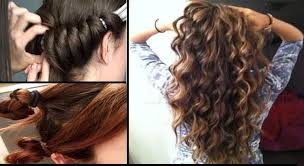 curl your hair without using heat