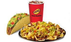 taco bueno menu s operating