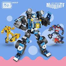 BỘ LẮP GHÉP LOZ Mini Khối Technic Xe Biến Dạng Robot Đồ Chơi Trẻ ...