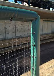 Black Cable Ties For Fence Rail And Dugout Padding Bison Inc