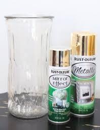 diy gold mercury glass