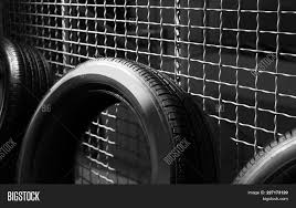 Car Tire Near Grate Image Photo Free Trial Bigstock